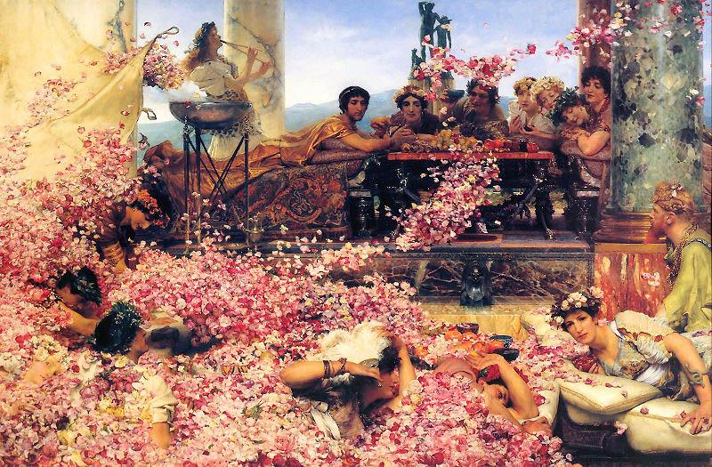 Sir Lawrence Alma-Tadema,OM.RA,RWS The Roses of Heliogabalus