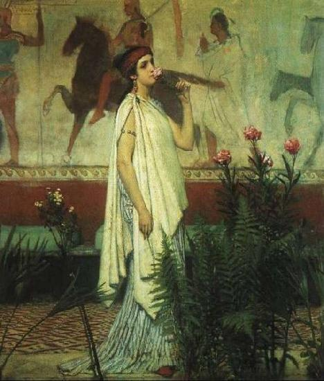 Laura Theresa Alma-Tadema A Greek Woman Sir Lawrence Alma