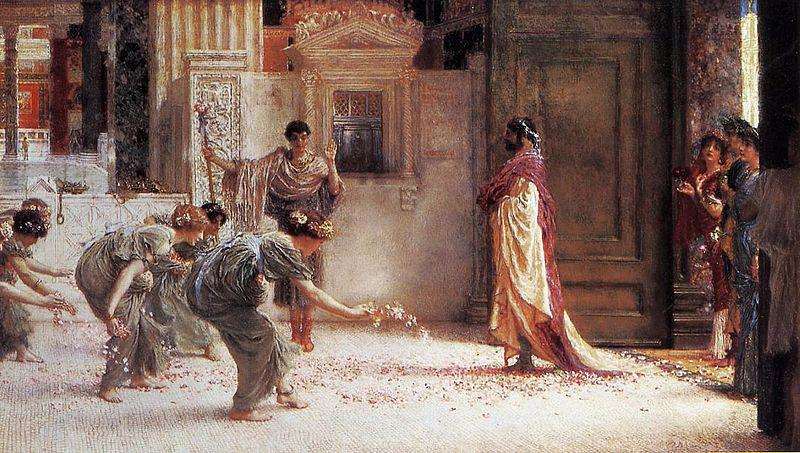 Sir Lawrence Alma-Tadema,OM.RA,RWS Caracalla Sir Lawrence Alma-Tadema