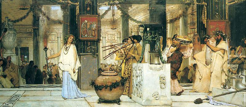 Laura Theresa Alma-Tadema The Vintage Festival