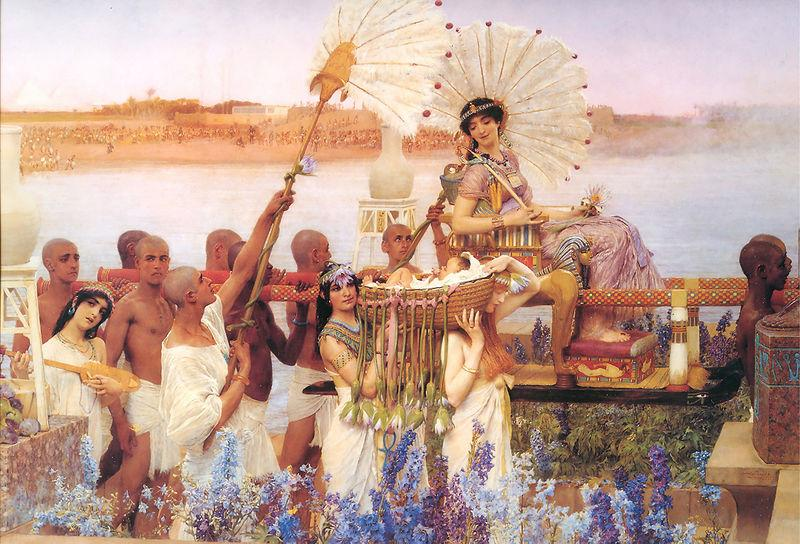 Laura Theresa Alma-Tadema The finding of Moses