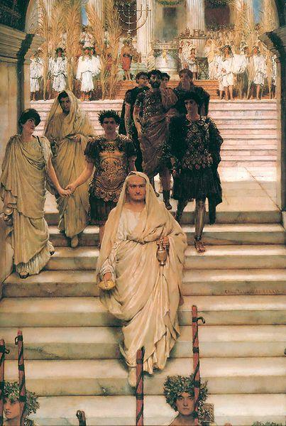 Laura Theresa Alma-Tadema The Triumph of Titus
