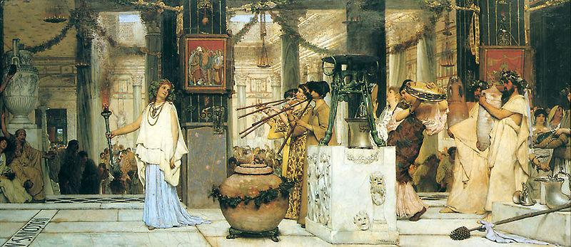 Sir Lawrence Alma-Tadema,OM.RA,RWS The Vintage Festival