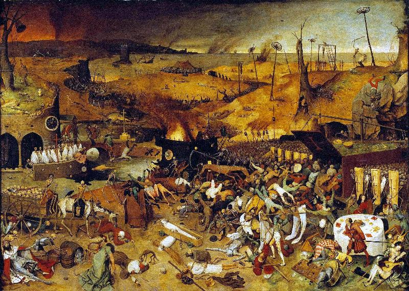 BRUEGEL, Pieter the Elder The Triumph of Death