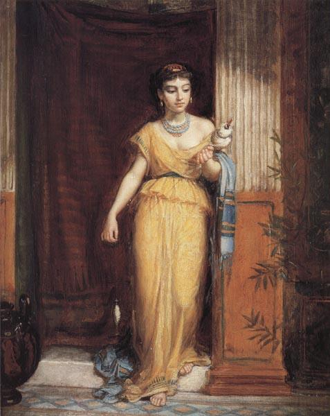 John William Waterhouse La Fileuse