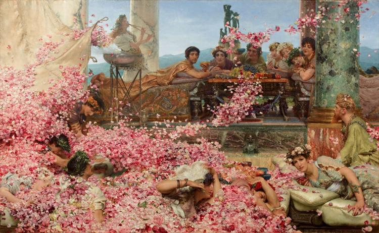 Alma-Tadema, Sir Lawrence The Roses of Heliogabalus (mk23)