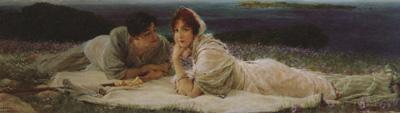 Alma-Tadema, Sir Lawrence A World of Their Own (mk24)