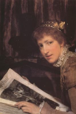 Alma-Tadema, Sir Lawrence Interrupted (mk23)