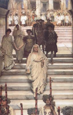 Alma-Tadema, Sir Lawrence The Triumph of Titus: AD 71 (mk23)