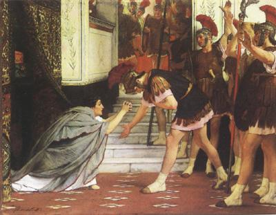Alma-Tadema, Sir Lawrence The melodrama of such works (mk24)