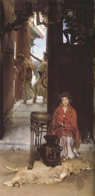 Alma-Tadema, Sir Lawrence The Way to the Temple (mk23)