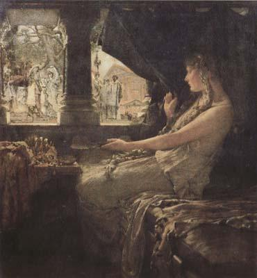Alma-Tadema, Sir Lawrence Fredegonda and Galswintha AD 566 (mk23)