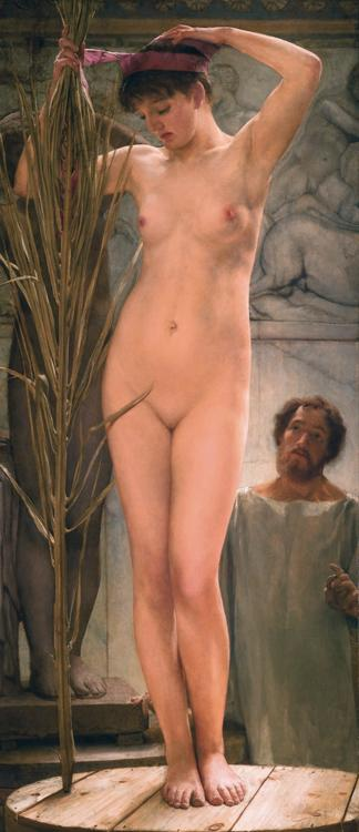 Alma-Tadema, Sir Lawrence A Sculpture's Model (mk23)