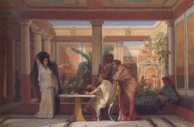 Alma-Tadema, Sir Lawrence Gustave Boulanger,The Rehearsal in the House of the Tragic Poet (mk23)