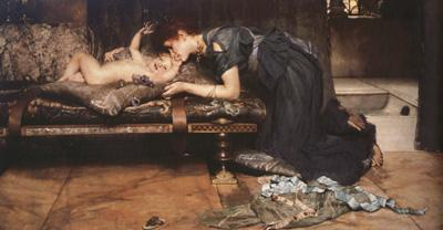 Alma-Tadema, Sir Lawrence An Earthly Paradise (mk23)
