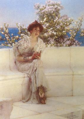 Alma-Tadema, Sir Lawrence The Year ' s at the Spring (mk24)