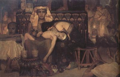 Alma-Tadema, Sir Lawrence The Death of the First-Born (mk23)