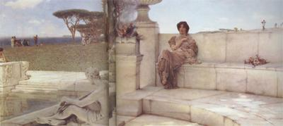 Alma-Tadema, Sir Lawrence The Voice of Spring (mk23)
