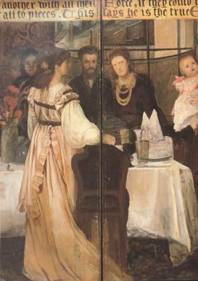 Alma-Tadema, Sir Lawrence The Epps Family Screen (detao) (mk23)