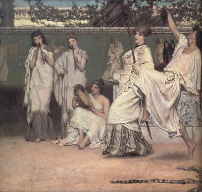 Alma-Tadema, Sir Lawrence A Private Celebration (mk23)