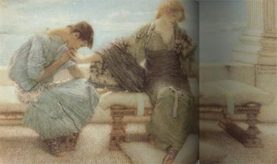 Alma-Tadema, Sir Lawrence Ask Me No More (mk23)