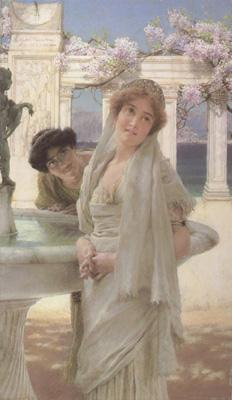 Alma-Tadema, Sir Lawrence A Difference of Opinion (mk23)