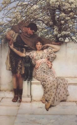 Alma-Tadema, Sir Lawrence Promise of Spring (mk24)