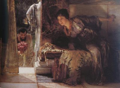 Alma-Tadema, Sir Lawrence Welcome Footsteps (mk23)