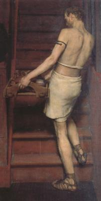 Alma-Tadema, Sir Lawrence A Romano-British Potter (mk23)