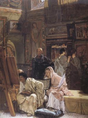 Alma-Tadema, Sir Lawrence The Picture Gallery (mk23)