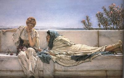 Alma-Tadema, Sir Lawrence Pleading (mk23)