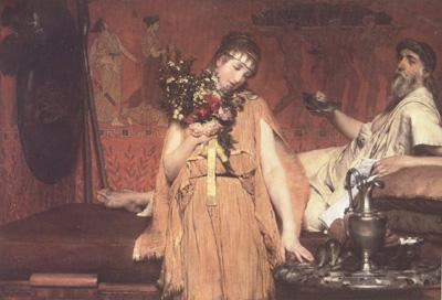 Alma-Tadema, Sir Lawrence Between Hope and Fear (mk23)