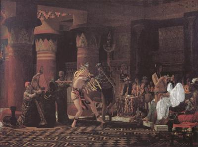 Alma-Tadema, Sir Lawrence Pastimes in Ancient Egypt 3000 Years Ago (mk23)
