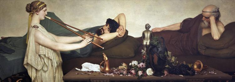 Alma-Tadema, Sir Lawrence The Siesta (mk23)