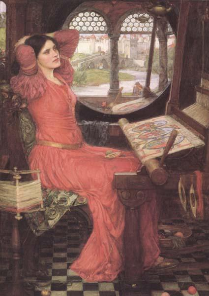 John William Waterhouse i and Half-sick of shadows said the Lady of Shalott (mk41)
